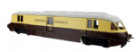 Dapol 4D-011-100 Scale: 1:76, OO  *Streamlined Railcar Express Parcels Choc/Cream 17